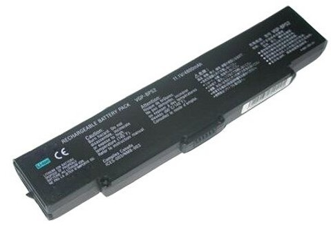 4400 mAh Sony VGN-C140G battery
