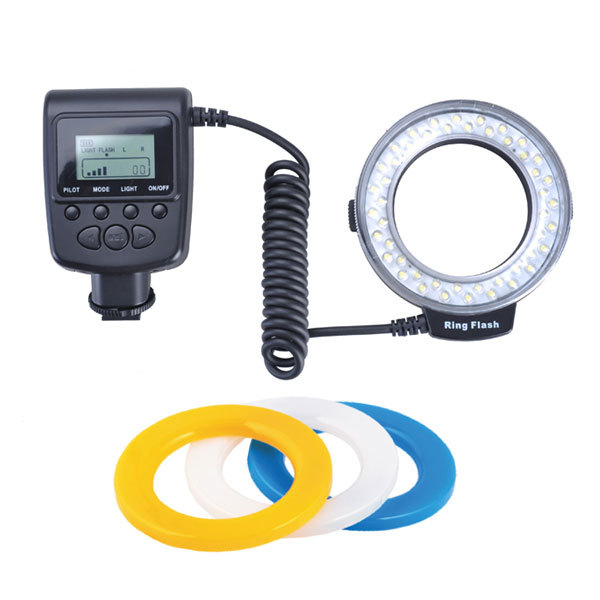 Macro LED Ring Flash Light RF550 RF-550 48pcs LED for A850 A580 A500 A230