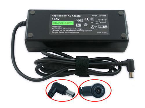 Sony VAIO VGN-AW450F 120W AC Power Adapter Supply Cord/Charger, 30% Discount Sony VAIO VGN-AW450F 120W AC Power Adapter Supply Cord/Charger  , Online Sony 19.5V 6.15A 120W AC Power Adapter Supply Cord/Charger